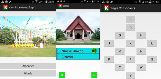 Kachin Learning App